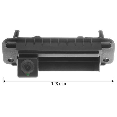 Камера заднего вида в ручку багажника для Mercedes-Benz C-класса 2012-2013 г.в. Превью 1