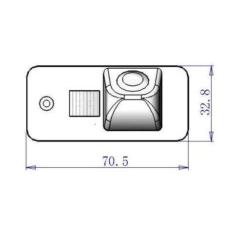 Автомобильная камера заднего вида для Audi Q7 Превью 4