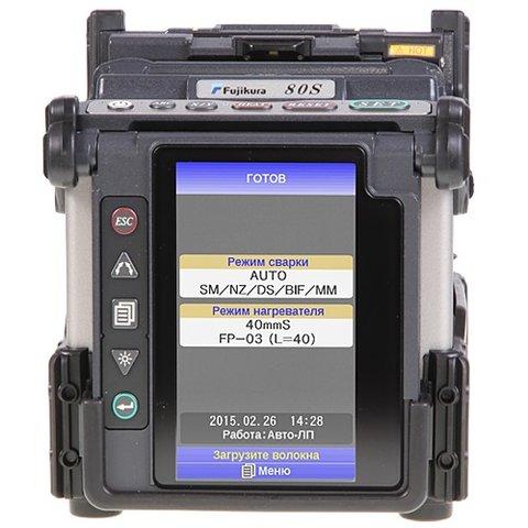 """Зварювальний апарат для оптоволокна Fujikura 80S+ """"Kit-A"""" Standard Прев'ю 4"""