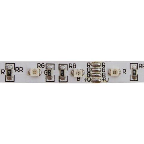 Світлодіодна стрічка SMD3528 (RGB, 60 світлодіодів, 12 В DC, 1 м, IP20) Прев'ю 1