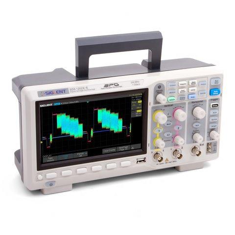 Фосфорний цифровий осцилограф SIGLENT SDS1202X-E Прев'ю 2